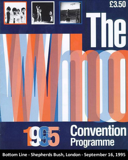 The Who Convention 1995