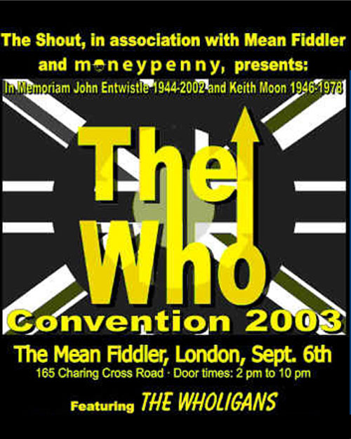The Who Convention 2003